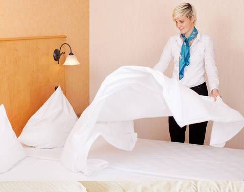 Bed linen cleaning